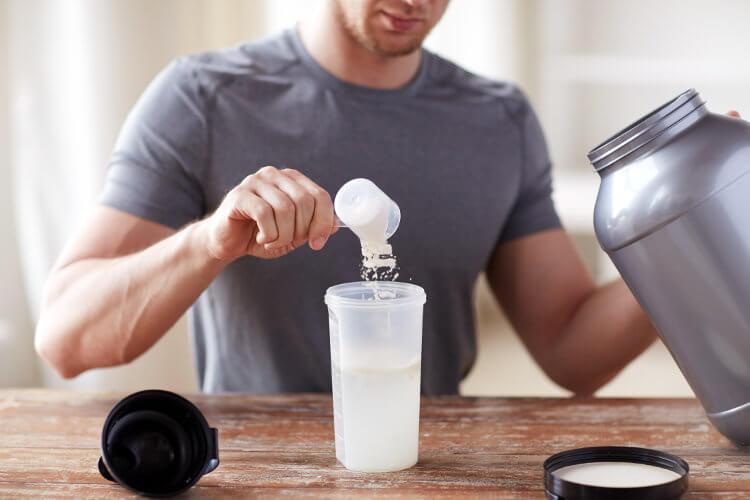 Whey Protein von Giga Nutrition
